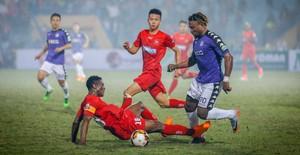 Thế trận áp đảo, CLB Hà Nội giành trọn 3 điểm trước CLB Hải Phòng