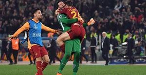 ẢNH: AS Roma ngược dòng không tưởng, loại Barcelona khỏi Champions League