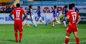 ẢNH: Hoà HAGL, CLB Hà Nội tiến vào bán kết Cúp Quốc gia