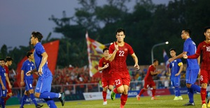 ẢNH: U22 Việt Nam loại U22 Thái Lan, thẳng tiến vào bán kết SEA Games 30