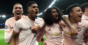ẢNH: Man Utd thắng kịch tính PSG nhờ VAR để giành quyền vào tứ kết UEFA Champions League