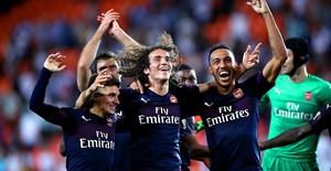 ẢNH: Arsenal thắng thuyết phục Valencia để giành quyền vào chung kết Europa League