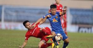 Chùm ảnh: CLB Viettel thắng đậm CLB Quảng Nam ngay trên sân khách (Vòng 7 V.League 2020)