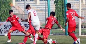U22 Việt Nam hoà 2-2 CLB Viettel trong trận đấu tập cuối cùng
