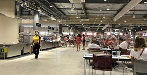 Chùm ảnh: Khu nhà ăn của VĐV Olympic Tokyo 2020