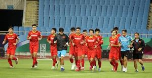 ĐT Việt Nam tập trên sân Mỹ Đình, sẵn sàng cho trận gặp ĐT Australia