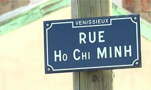 Những con đường Việt Nam tại Pháp