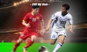 Giá vé trận U22 Việt Nam - Tuyển các Ngôi sao K League thấp nhất là 100.000 đồng