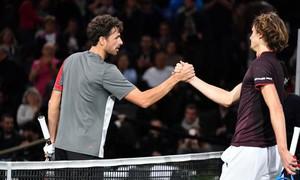 Vòng 2 Paris Masters 2017: Alexander Zverev bất ngờ bị loại