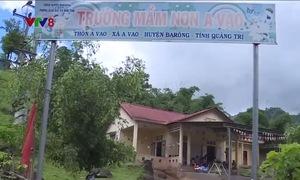 Nhiều trường mầm non miền núi Quảng Trị thiếu nhân viên cấp dưỡng