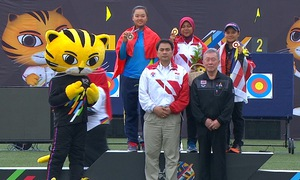 Đoàn thể thao Việt Nam đã có tấm huy chương đầu tiên tại SEA Games 29