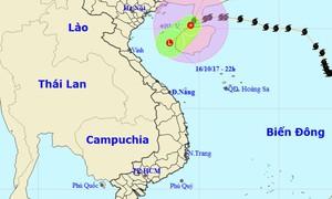 Bão số 11 suy yếu thành áp thấp nhiệt đới
