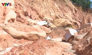 Bình Định: 37 hộ dân huyện An Lão vẫn bị chia cắt sau bão