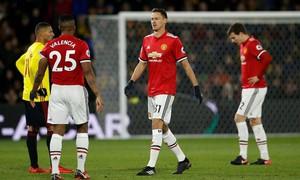 Man Utd nguy cơ cao mất Matic ở đại chiến với Arsenal