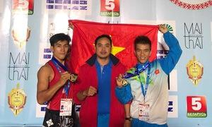Nguyễn Trần Duy Nhất lần thứ 6 vô địch Muay thế giới