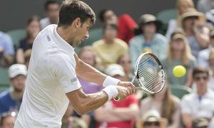Vượt qua Mannarino, Djokovic thẳng tiến vào tứ kết Wimbledon 2017