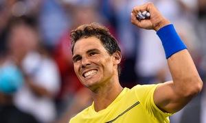 Rafael Nadal chính thức trở lại ngôi số 1 thế giới
