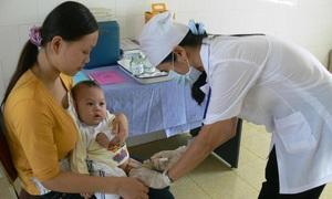 Đẩy mạnh kế hoạch tiêm bổ sung vaccine sởi - rubella cho trẻ 1 - 5 tuổi