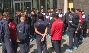 ĐT U20 Việt Nam có mặt tại Đức