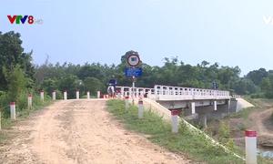 Cầu dân sinh cho người dân vùng cách trở Quảng Trị