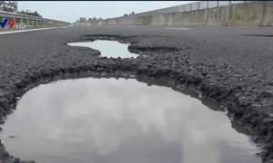 Cao tốc Đà Nẵng - Quảng Ngãi bị hư hỏng: Do nhà thầu, các đơn vị thi công thiếu trách nhiệm