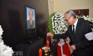 Tổ chức trọng thể Lễ viếng nguyên Tổng Bí thư Đỗ Mười tại các nước