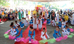 Khai mạc lễ hội Katê của người Chăm tại Bình Thuận
