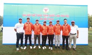 Trần Lê Duy Nhất và Tăng Thị Nhung dẫn đầu Bảng xếp hạng môn Golf Đại hội TTTQ 2018