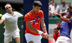 Quần vợt năm 2019: Federer, Nadal và Djokovic