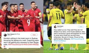 AFF Cup 2018: Báo chí Malaysia hào hứng khi đội nhà gặp lại ĐT Việt Nam ở chung kết