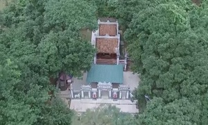 Đền thờ Thánh Mẫu Liễu Hạnh bên dãy Hoành Sơn, Quảng Bình