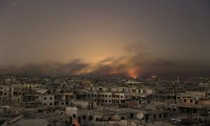 Quân đội Chính phủ Syria tiến vào khu vực Đông Ghouta
