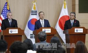 Mỹ - Nhật - Hàn phối hợp chuẩn bị cho cuộc gặp thượng đỉnh Mỹ - Triều Tiên