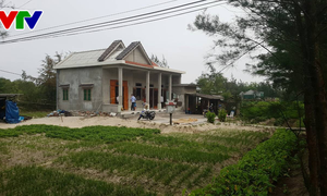 Đài Truyền hình Việt Nam trao tặng nhà tình nghĩa cho gia đình chính sách ở Quảng Trị