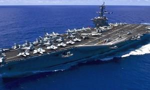 Video: Cận cảnh tàu sân bay USS Carl Vinson thăm Đà Nẵng