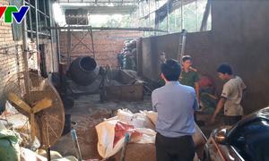 Xử lý nghiêm vụ trộn bột pin vào phế phẩm cà phê tại Đắk Nông
