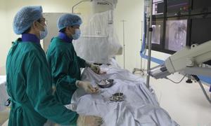 Điện quang can thiệp - Thêm cơ hội cứu sống người bệnh