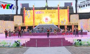 Đoàn ca múa nhạc dân tộc Đắk Lắk biểu diễn tại Festival Huế 2018