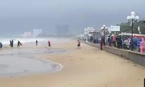 Mây đối lưu phát triển gây mưa ở các vùng biển phía Nam