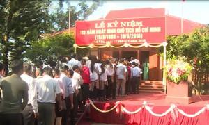 Phú Yên dâng hương kỷ niệm 128 năm ngày sinh Chủ tịch Hồ Chí Minh
