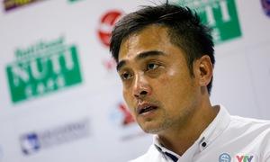 HLV Đức Thắng hạnh phúc với chiến thắng đầu tiên tại V.League 2018