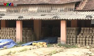 Quảng Nam ô nhiễm môi trường từ các lò sản xuất gạch