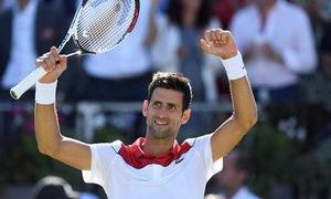 Vượt qua Chardy, Djokovic hẹn Cilic tại chung kết Queen's Club