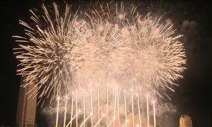 """Đêm thi """"Nhịp cầu khát vọng"""" kết thúc vòng loại Lễ hội pháo hoa Quốc tế Đà Nẵng"""