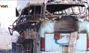 Nguy hiểm các vụ cháy xe khách giường nằm