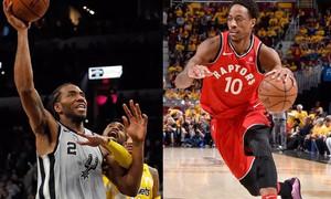 San Antonio Spurs và Toronto Raptors trao đổi cầu thủ ngôi sao của hai bên