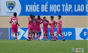 TRỰC TIẾP BÓNG ĐÁ V.League 2018, XSKT Cần Thơ 0-1 CLB Sài Gòn: Quốc Phương mở tỷ số
