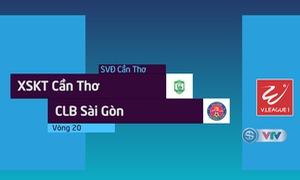 VIDEO: Tổng hợp diễn biến trận XSKT Cần Thơ 1-3 CLB Sài Gòn (Vòng 20 Nuti Café V.League 2018)