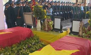 Lễ viếng, truy điệu hai liệt sỹ phi công Su22 hy sinh tại Nghệ An