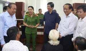 Phó Thủ tướng Trương Hòa Bình kiểm tra công tác cải cách hành chính tại Quảng Nam